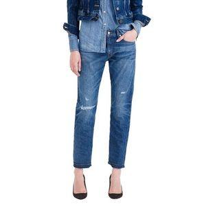 J Crew size 26 Point Sur High Rise Denim Jeans NWT